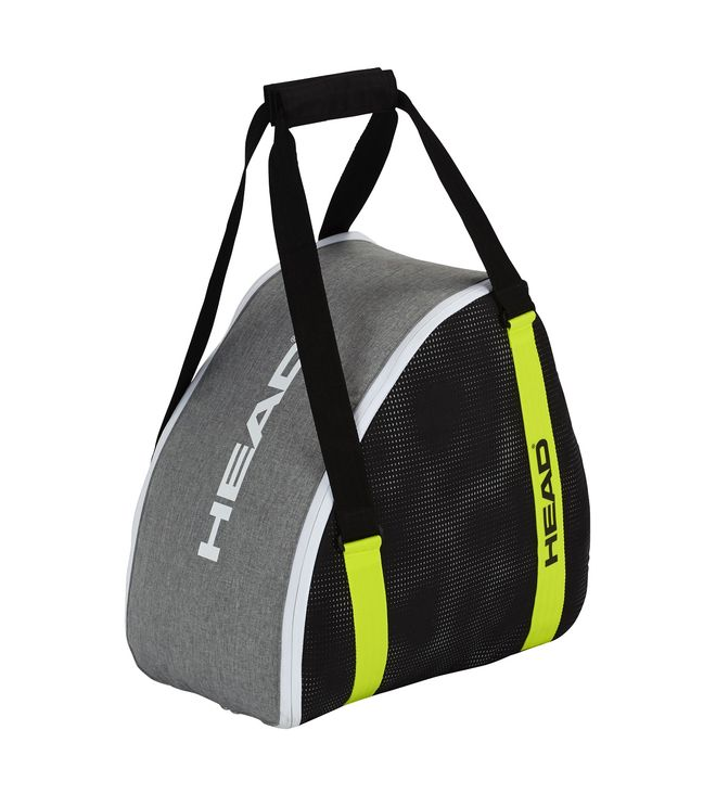 Boot Bag Antracite/Grey-Neon Yellow